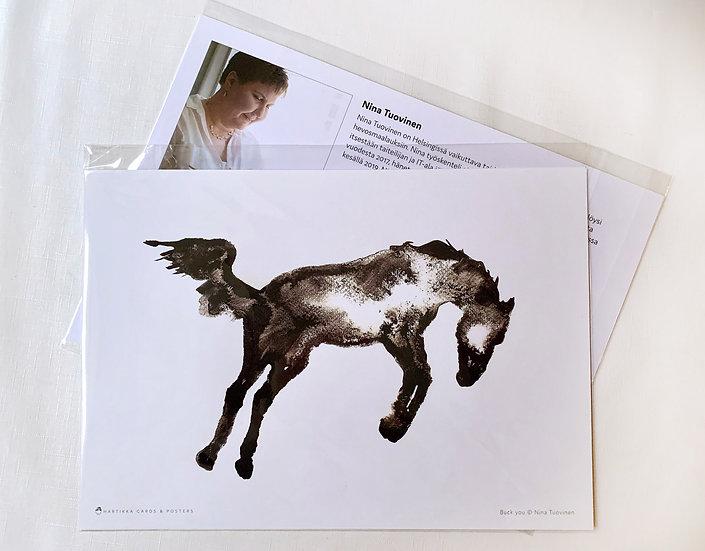 Buck You - A4 Print