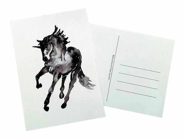 Black Unicorn - Postcard