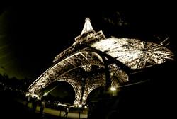 Paris _ Tour D'Effiel stark