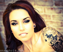 Gorgeous Girl with great Tattoo