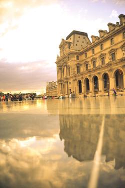 Paris _ Louvre reflection 4