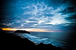 sunset Point Sur Lighthouse, Big Sur California