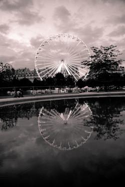 Paris Ferris Wheel _ Antiqued