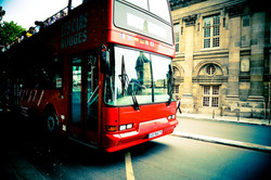 Paris _ Red Tourist Bus