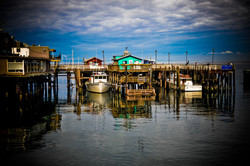 Fishermans Warf reflections