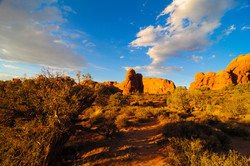 Monuments in Arches Park
