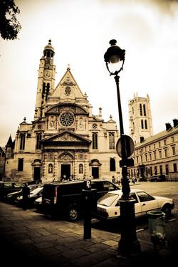 Vintage Paris Church