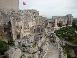 Ruines baux de Provence