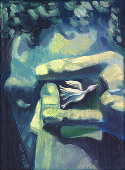 L'oiseau en cage
