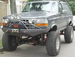 Bronco prerunner