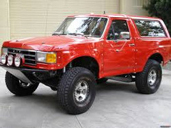 Red Bronco