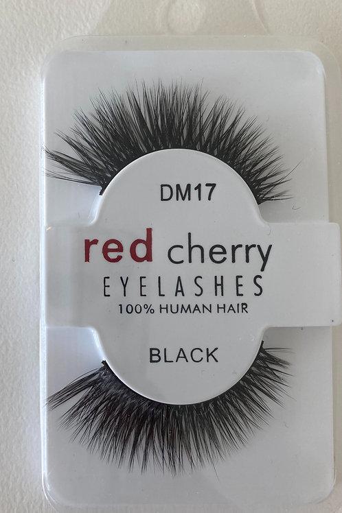Red Cherry Eye Lashes DM17 BLACK