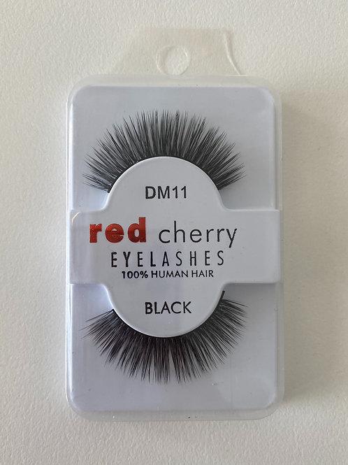 Red Cherry Eye Lashes DM11 BLACK