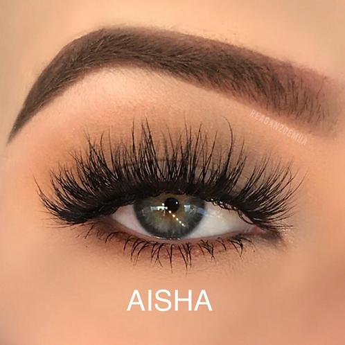 Aisha Mink Lashes   FlirtyLashes