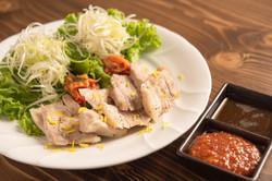 韓国風蒸し豚