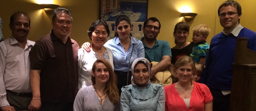 2015 Omid and Zehra Fellowship Graduation