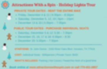 Attractions With a Spin - Holiday Lights