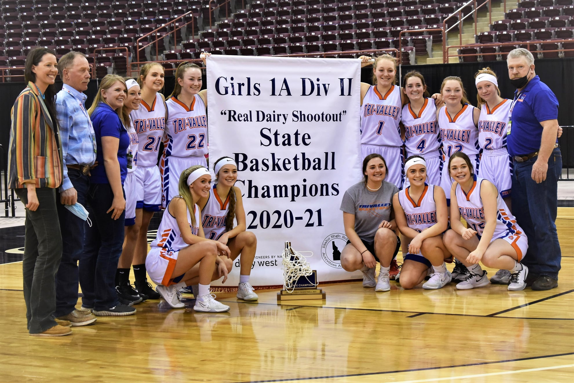 Girls State BB Photo