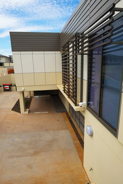 View to Basement Carpark Entry