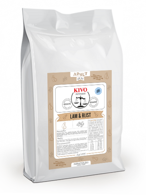 Lam en Rijst 15kg