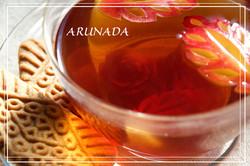 apple & ginger tea