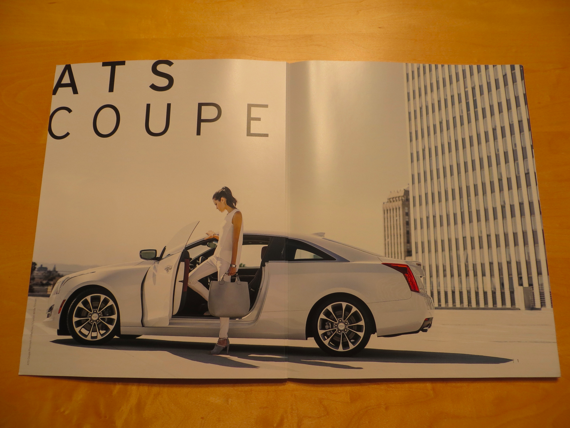 ATS Coupe opening spread