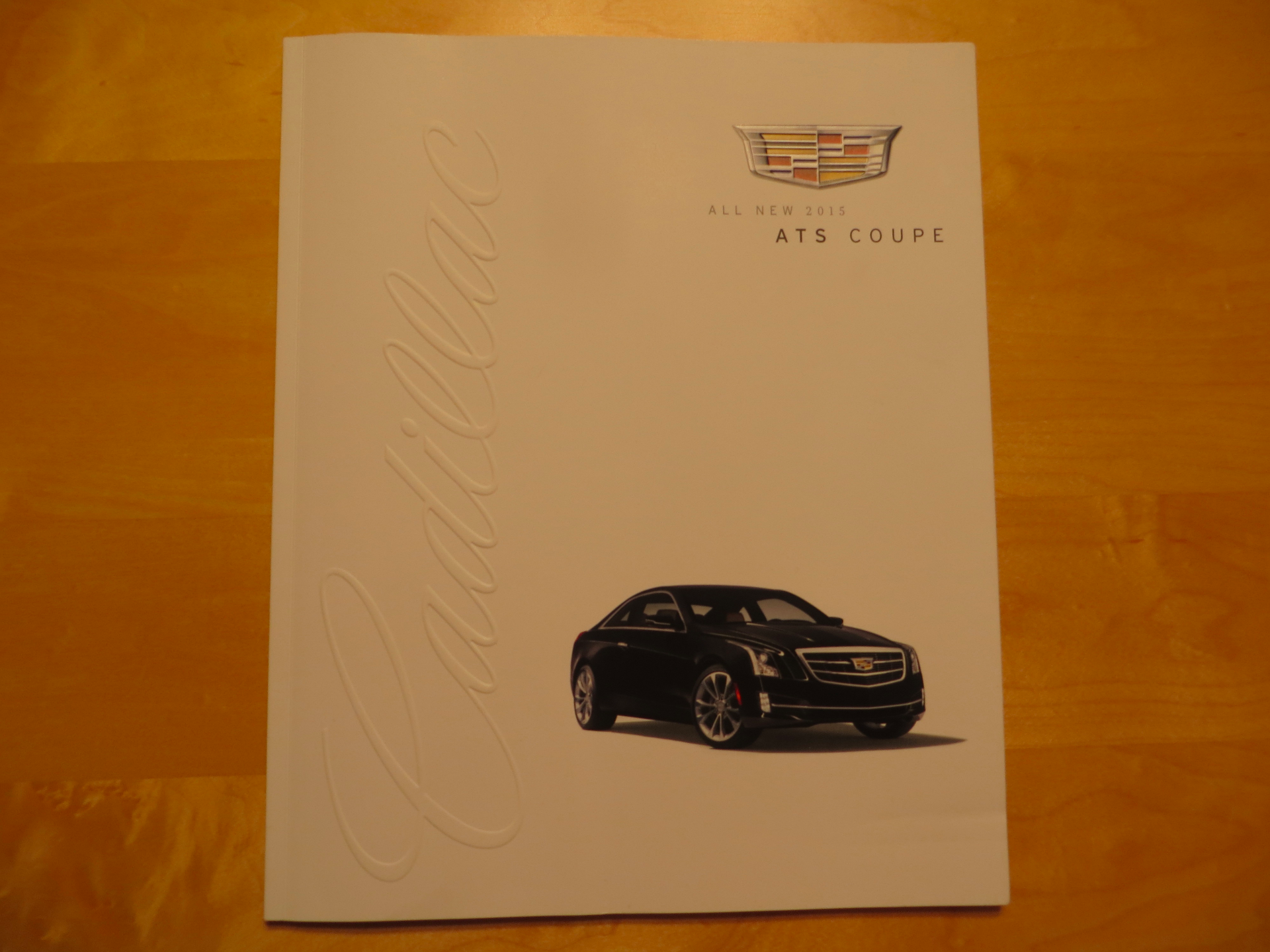 ATS Coupe Cover