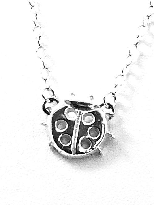 Dainty Ladybug Pendant