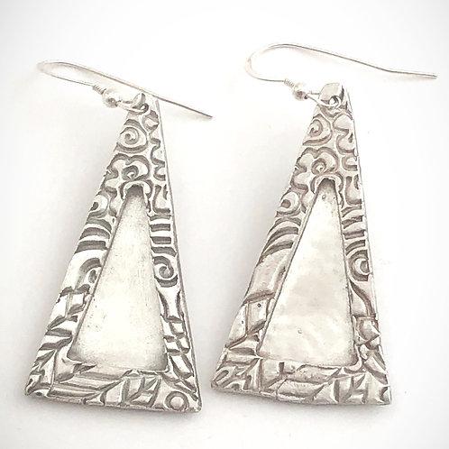Triangle Tower Earrings
