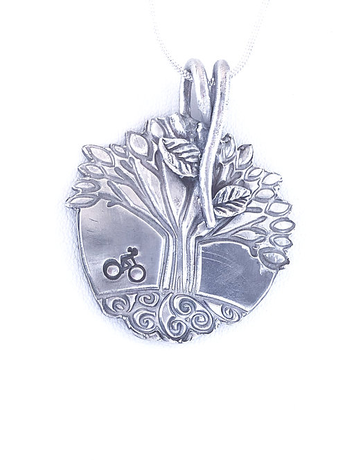 Tree of Life with a bicycle