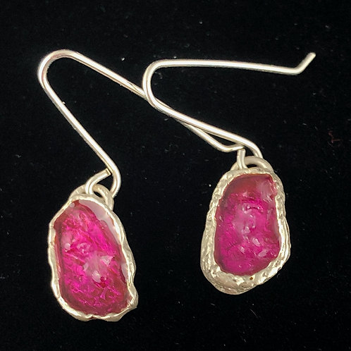 Sterling silver Raspberry Drops