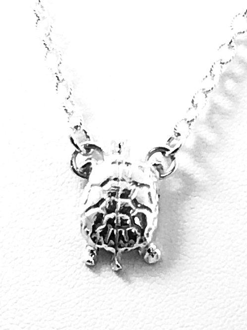 Dainty Turtle Pendant