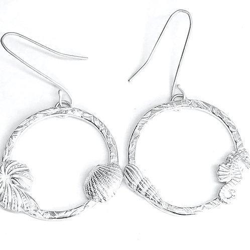 Circling Shells Earrings