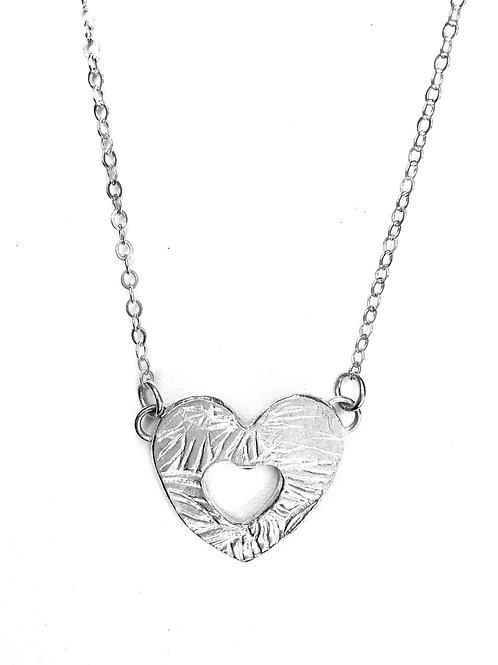 Dainty Heart Within a Heart