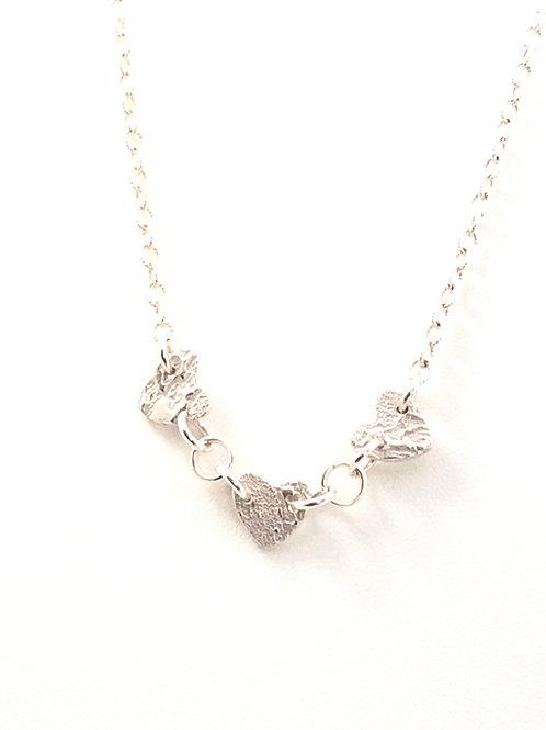 Dainty Triple Heart Pendant