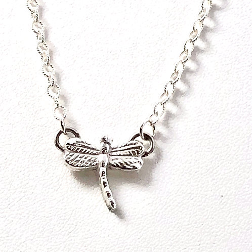Dainty Dragonfly Pendant