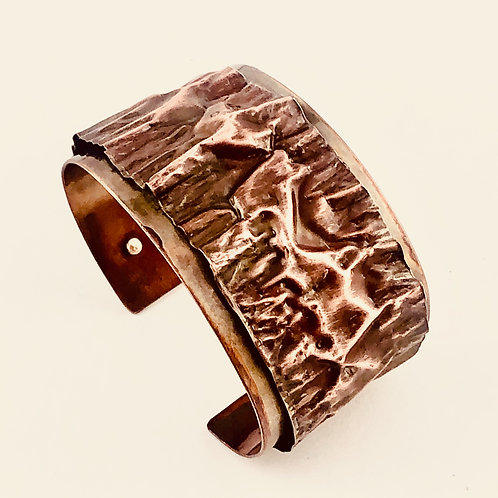 Copper Ribbon Cuff