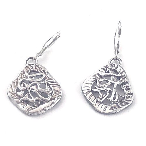 Young at Heart Squiggle Earrings