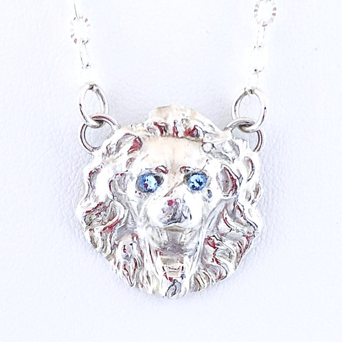 Blue-eyed Lion Pendant