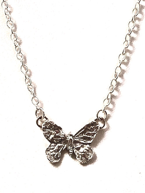 Dainty Butterfly Pendant
