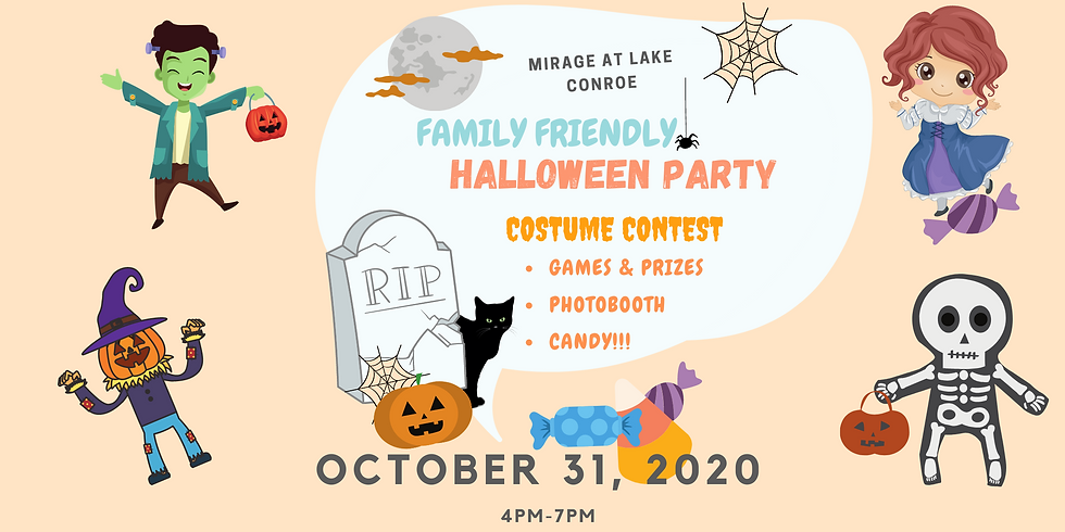 Halloween Party -Family Friendly