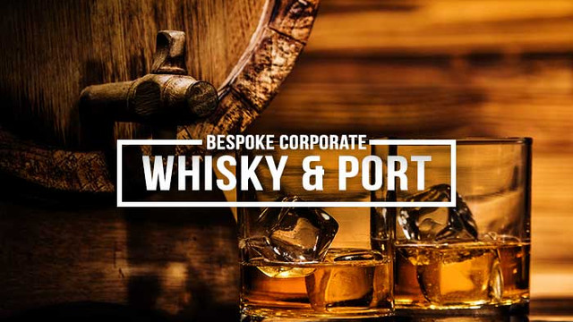 Bespoke Corporate Whisky & Port Gifts