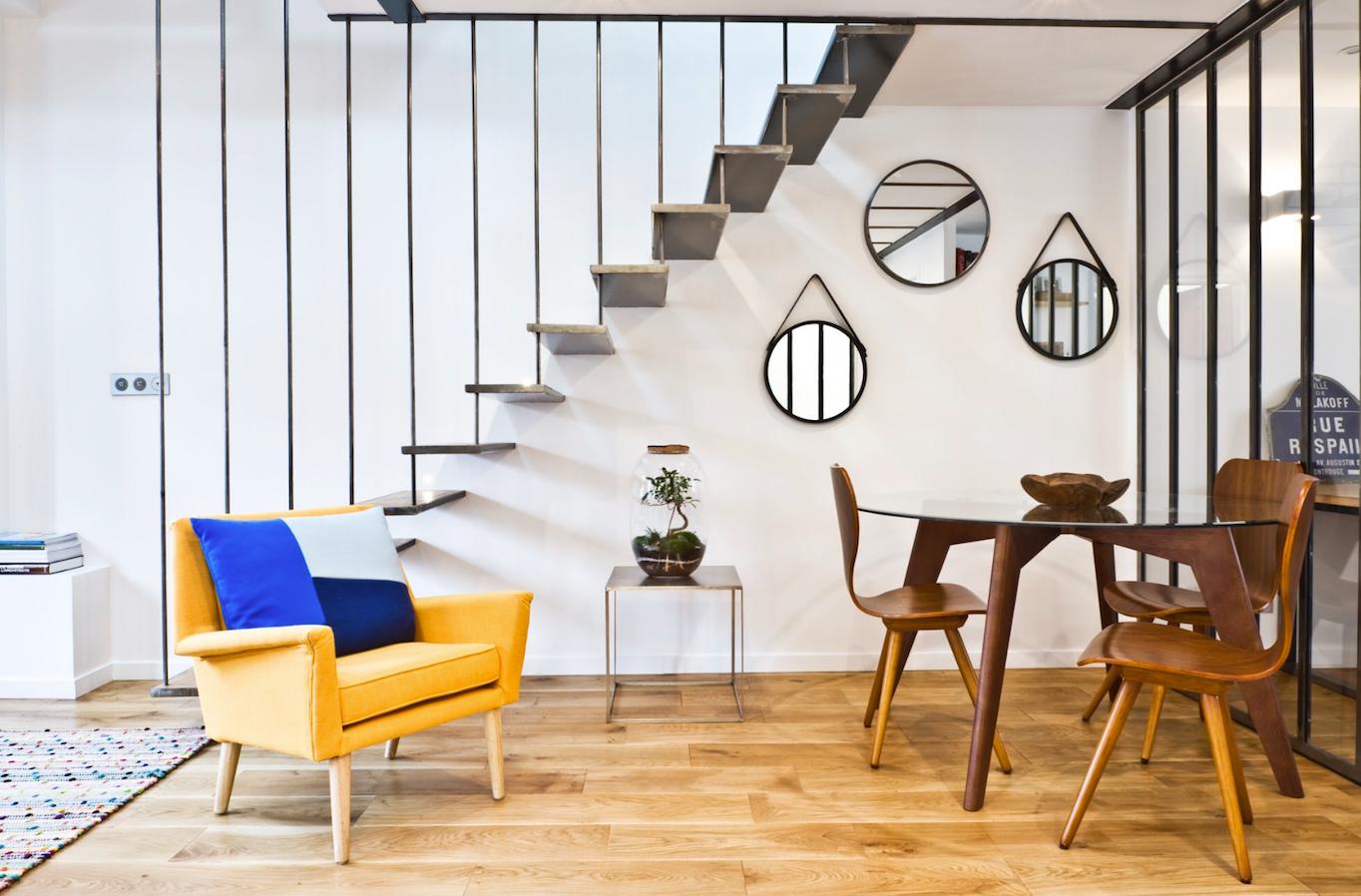 sacha elbaz i appartement belleville. Black Bedroom Furniture Sets. Home Design Ideas