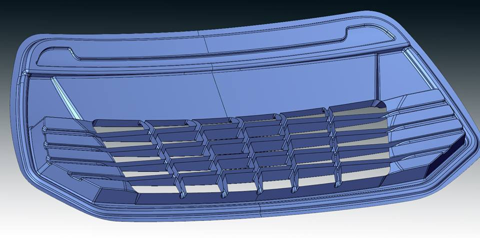 Car bumper cad redesign