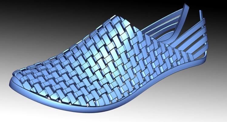 shoe 3D modelling