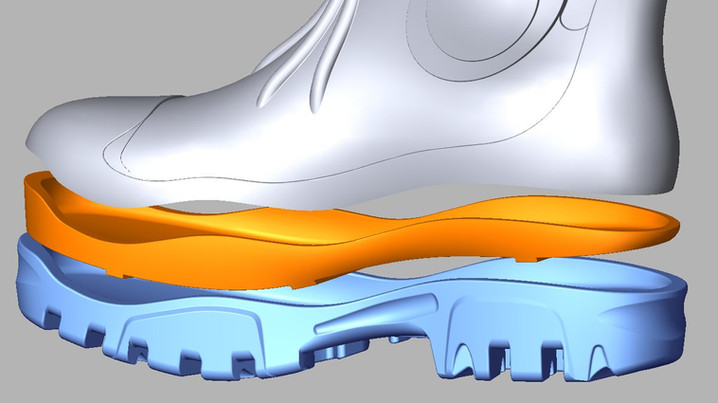 Wellington boots CAD redesign