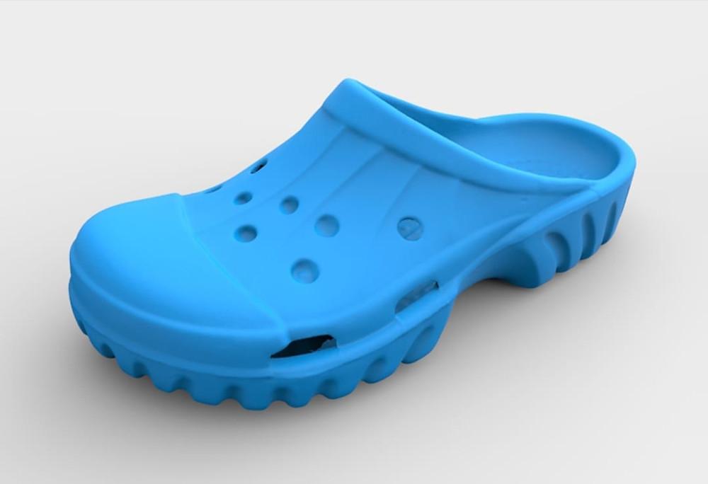 Crocs shoe 3D scan