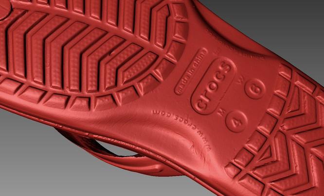 crocs 3D scan
