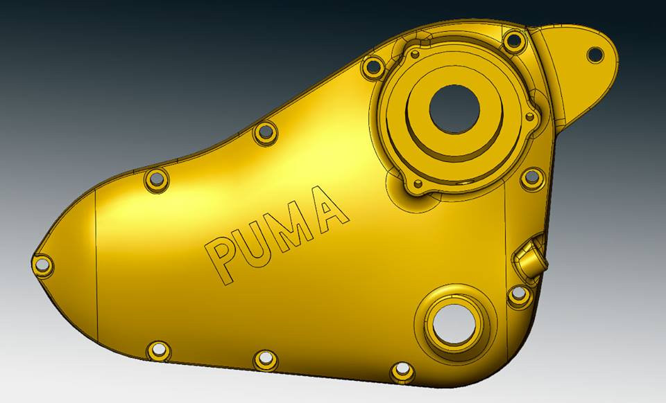 Puma crankcase reverse