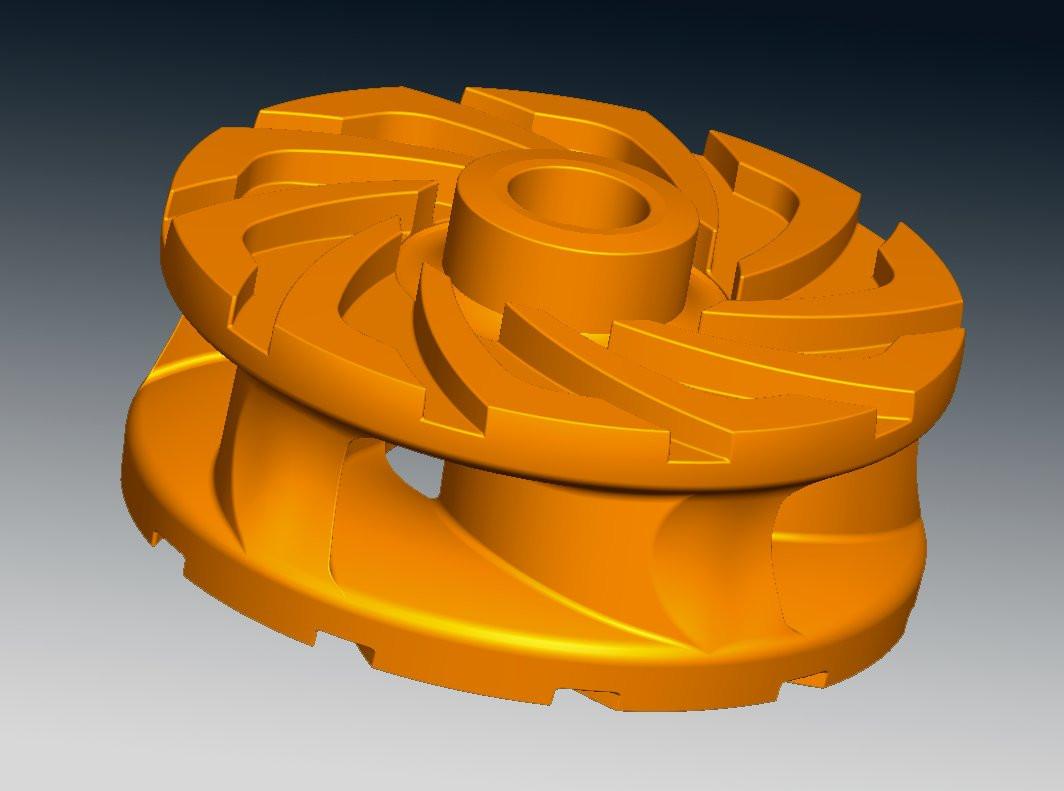 Slurry pump reverse engineering